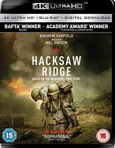 Hacksaw ridge 4k lightning deal £13.33 @ Amazon