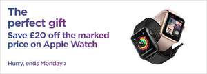 £20 OFF all Apple Watch @ Currys/PCWorld