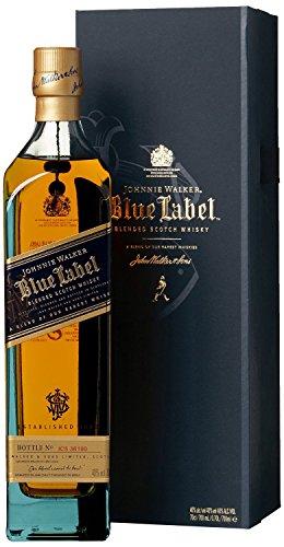 Johnnie Walker Blue Label Blended Scotch Whisky, 70 cl