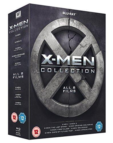 X-Men Collection [Blu-ray] 8 Discs - £12.48 (Prime) £14.47 (Non Prime) at Amazon