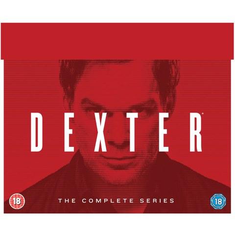 Dexter Complete Series DVD - Series 1-8 - 33 Discs £21.99 @ Zavvi