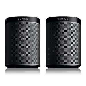 2 x Sonos Play 1 (black only) £298  - Direct from Sonos