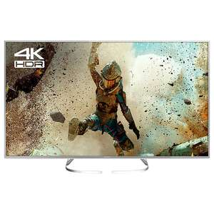 "Panasonic 58EX700B LED HDR 4K Ultra HD Smart TV, 58"" with Freeview Play, Slim Metallic Bezel & Switch Design Adjustable Stand, Silver, Ultra HD Certified £599 John Lewis"