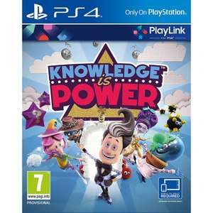 Knowlege Is Power (PS4/Playlink) £9.99 Delivered @ TheGameCollection