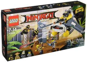 LEGO Ninjago Movie 70609 Manta Ray Bomber Toy - £12.50 (Prime) / £17.25 (non Prime) at Amazon