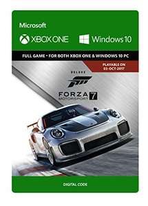 Forza Motorsport 7: Deluxe Edition (Xbox One/Windows 10) - Download Code - was £64.99 now £34.99 @ Amazon