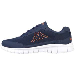 Kappa Rocket, Unisex Adults' Low-Top Sneakers (Navy/Orange) - was £32.81 now £8.45 (Prime) / £13.20 (non Prime) at Amazon