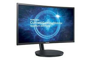 "Samsung C24FG70 24"" 144Hz 1ms MPRT Gaming Monitor – Matt Black £209.99 Amazon"