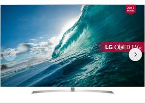 "LG OLED55B7V OLED HDR 4K Ultra HD Smart TV, 55"" £1399 John Lewis"