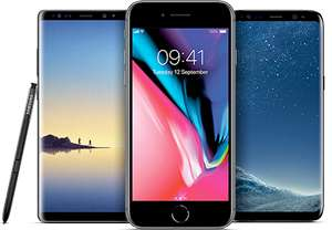 Samsung S8 Note £41 pm (£984 over 24 mths) Vodafone 8GB UL mins and texts + Spotify MobilePhones Direct