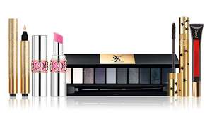Yves saint Laurent website offering 20% off sitewide, free delivery & 2 free samples