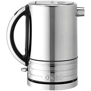 Dualit Architect Kettle, Polished Steel / Black from John Lewis - £53.99