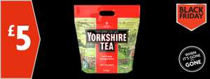 Yorkshire Tea 480 bags for £5 in store and online  @ Morrisons