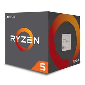 AMD Ryzen 5 1600 6 Core AM4 CPU/Processor with Wraith Spire 95W cooler £158.99 Scan