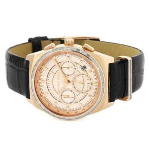 Michael Kors chronograph ladies watch £136.76 - Watch Shop
