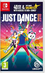 Just Dance 2018 Switch, £25 @Amazon, or £27.95 @ShopTo