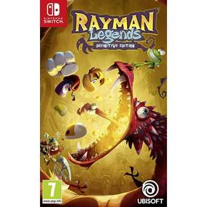 Rayman Legends Definitive Edition on the Switch £19.95