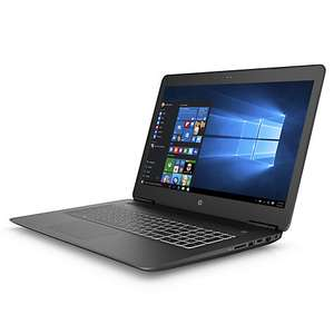 HP Pavillion Gamer 17in Core i7 8GB ITB Laptop, £749, down from £1,099.95, johnlewis.com