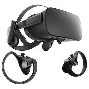 Oculus Rift and Touch Controllers Bundle £349 with 2 year guarantee @ John Lewis / CurrysPCWorld
