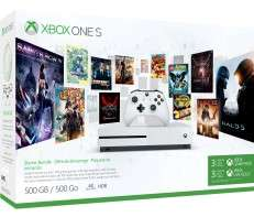 Xbox One S 500GB Consoles at £169.99 plus add Forza Motorsport 7, Disney Pixar Adventure, Zoo Tycoon for £10 each at Microsoft Store for £169.99