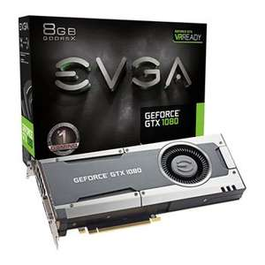EVGA NVIDIA GeForce GTX 1080 8GB Blower Fan GAMING Graphics Card £439.99 Scan
