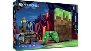 Xbox One S 1TB Console Minecraft Limited Edition Bundle at £289.99, save £60! @ Microsoft Store