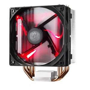 Cooler Master Hyper 212 Red LED CPU Cooler with PWM Fan £14.99 @ Scan