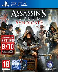 Assassin's Creed Syndicate (PS4) Standard Edition from Amazon @ £8.49 (Prime) £10.48 (Non Prime)