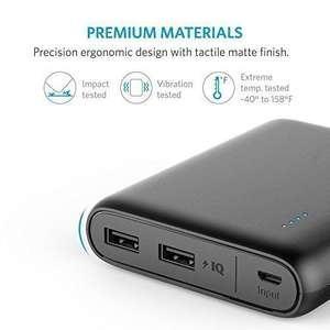 Anker PowerCore 13000 Power Bank - £17.98 (Prime) £21.97 (Non Prime)