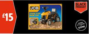 JCB kids ride on £15 and 6 bottles of either sauvignon blanc, shiraz or merlot for £24 (£4 each) Black Friday @ Morrisons
