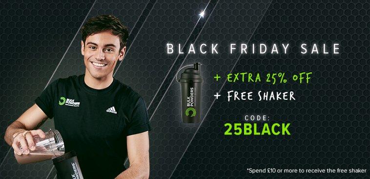Bulk Powders Black Friday Sale