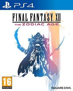 Final Fantasy XII The Zodiac Age (PS4) £15.49 / The Witcher 3 Game of the Year Edition (PS4/Xbox One) £16.99 (Prime) @ Amazon (+1.99 Non-prime)