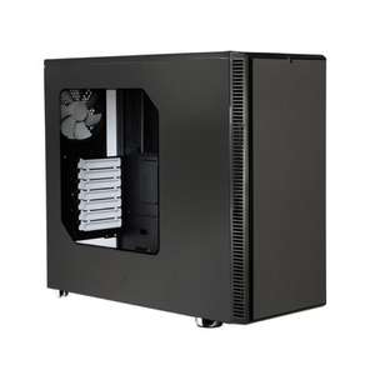 Fractal Design R4 Define PC Case with side window Black Pearl £49.99 SCAN