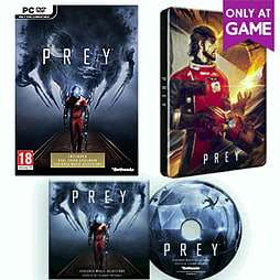 Prey steelbook including DLC and soundtrack CD (PC/Steam) - £12.99 @ GAME