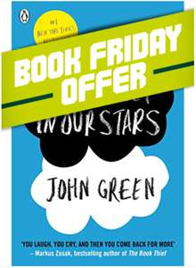 """Book Friday"" - popular books, 5 for £5 delivered at World of Books"