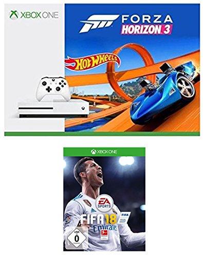 XBox One S - Forza Horizon 3 Hot Wheels bundle + Fifa 18 £183 @ amazon.de