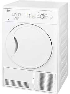 Beko DC7112W 7kg Condenser Dryer - White was £236.98 Del now £156.98 Del in Very's Cyber Monday Event
