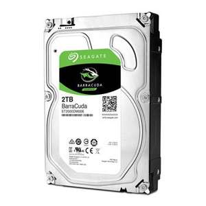 Seagate BarraCuda 2TB 3.5'' Hard Drive - £51.98 @ Scan
