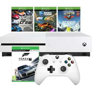Xbox One 500 GB with Rocket League, Forza MotorSport 7, The Crew and Steep Bundle - White £189 Delivered @ AO