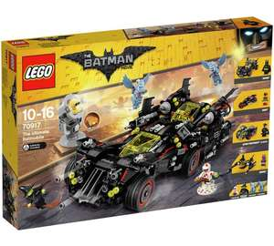 LEGO The Batman Movie Ultimate Batmobile - 70917 £94.99 Argos