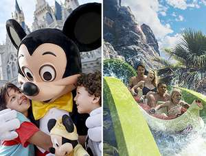 Various deals on Florida theme park tickets w/ Floridatix