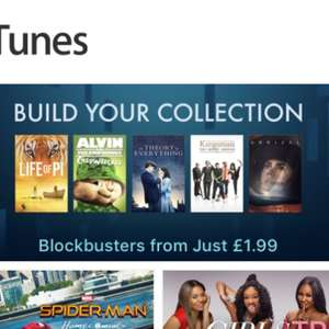 Various films to buy @ iTunes