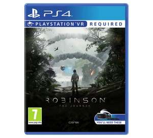 Robinson the journey psvr £13.99 argos