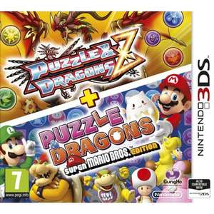 Puzzle & Dragons Z + Puzzle & Dragons Super Mario Bros Edition £6.95 Delivered @ TGC (The Game Collection)