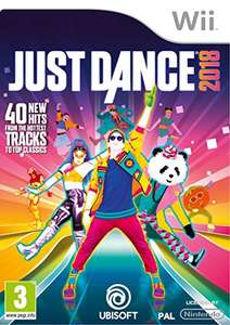 Just Dance 2018 Nintendo Wii £18.99 (Prime) £20.98 (Non Prime) @ Amazon