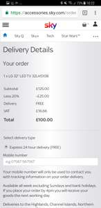 20% off TV with sky