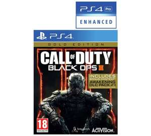 [PS4/XBOX] Call of Duty: Black Ops III Gold Edition at Argos for £14.99