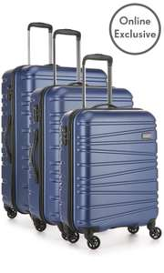 Antler Sonar Exclusive 3 Piece Suitcase Set - £109 @ Antler