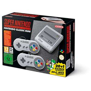 SNES Mini back in stock - £79.99 Nintendo UK