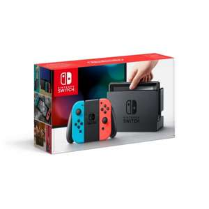 Nintendo Switch Neon Red/Blue plus game @ 365games.co.uk (Some waiting required) - £279.99